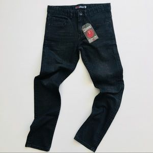 Element BNWT Worn Black Straight Boys Jeans Denim